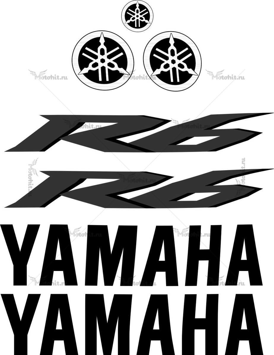Комплект наклеек Yamaha YZF-R6 2013