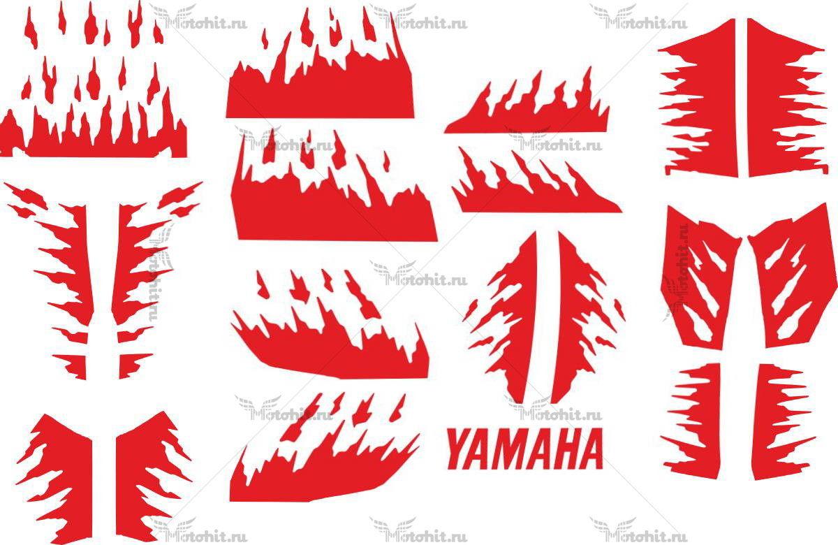 Комплект наклеек Yamaha YZF-R6 STREETFIGHTER