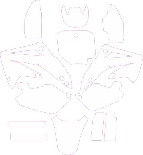 Комплект наклеек Honda CC-85