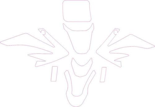 Комплект наклеек Honda CRF-50 2004-2010