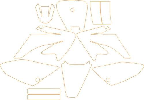 Комплект наклеек Honda CRF-70 2002-2012