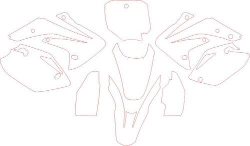 Комплект наклеек Honda CRF-150 2007-2010
