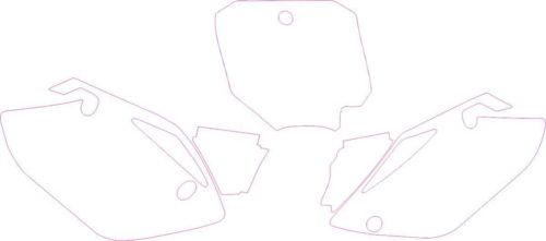Комплект наклеек Honda CRF-150 2007-2012 PLATES