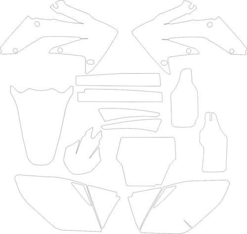 Комплект наклеек Honda CRF-250 2005-2006