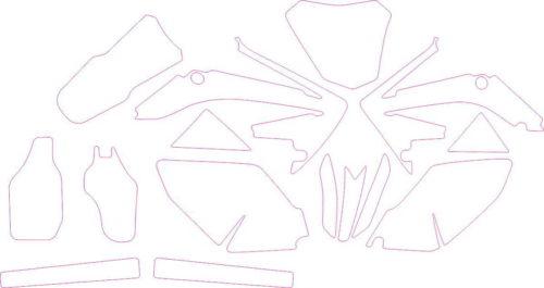 Комплект наклеек Honda CRF-250 2009-2