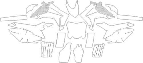Комплект наклеек Honda CRF-250 2014