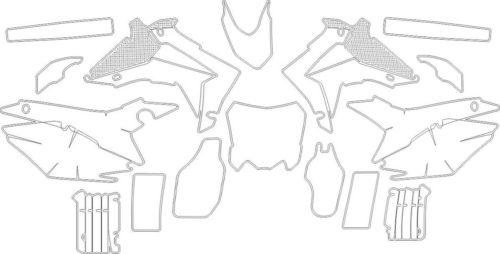 Комплект наклеек Honda CRF-450 2014