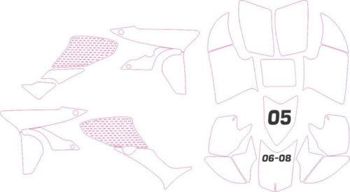 Комплект наклеек Honda TRX-450-R
