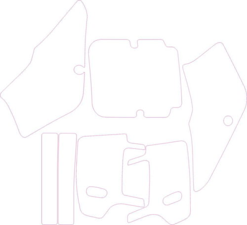 Комплект наклеек Kawasaki KDX 1989-2005