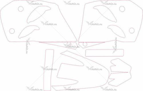 Комплект наклеек KTM 1993-1997
