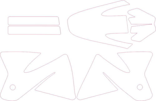 Комплект наклеек KTM SX 1998-2000