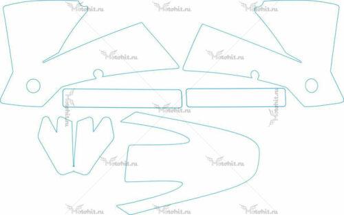 Комплект наклеек KTM SX 2001-2002 2