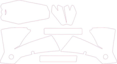 Комплект наклеек KTM SX 2003-2004