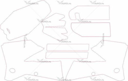 Комплект наклеек KTM SX 2005-2006