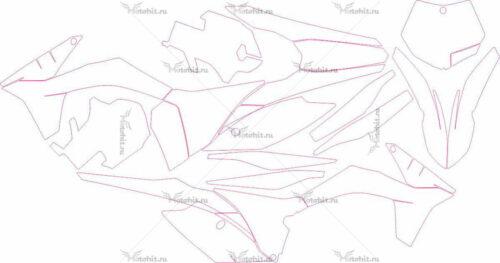 Комплект наклеек KTM SX 2011-2012