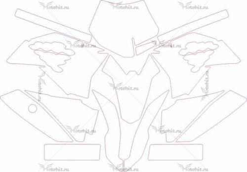 Комплект наклеек KTM SX-50 2015