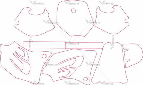 Комплект наклеек KTM SX-65 1998-2001