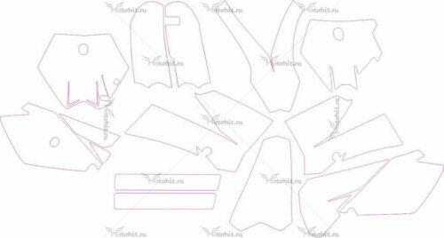 Комплект наклеек KTM SX-85 2006-2012