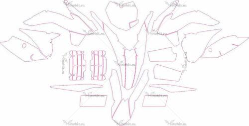 Комплект наклеек KTM SX-125-150-250 2014