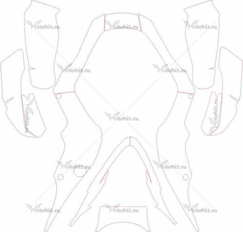 Комплект наклеек PRO-SHARK-MX