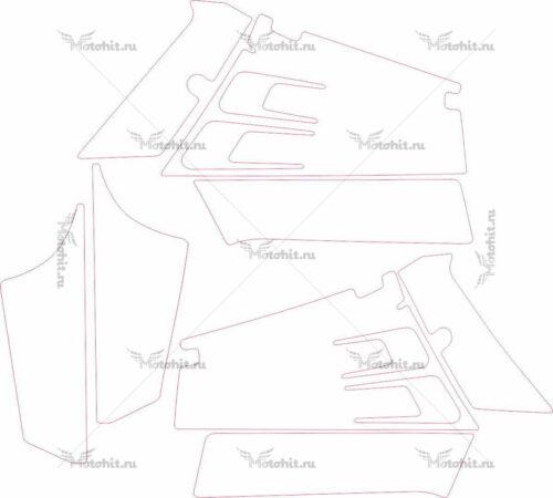 Комплект наклеек Yamaha BANSHEE-KIT