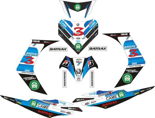 Комплект наклеек на скутер YAMAHA JUPITER MX 2006
