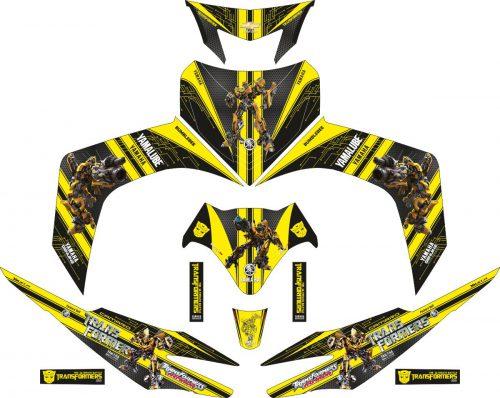 Комплект наклеек на скутер YAMAHA JUPITER MX BUMBLEBEE