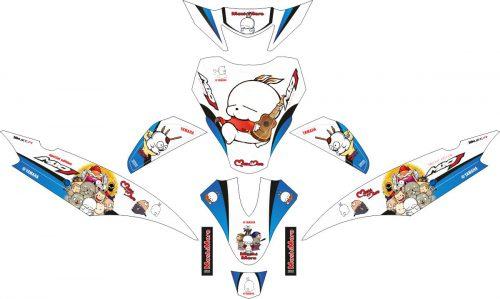 Комплект наклеек на скутер YAMAHA MIO J MASHIMARO
