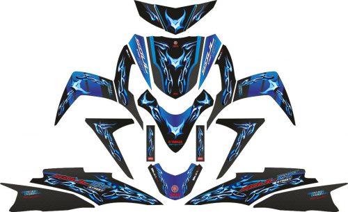 Комплект наклеек на скутер YAMAHA SOUL GT TRIBAL