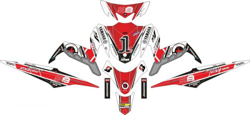 Комплект наклеек на скутер YAMAHA XEON GT 125 EAGLE EYES 2011