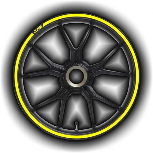 Комплект наклеек на обод колеса мотоцикла DUCATI CORSE