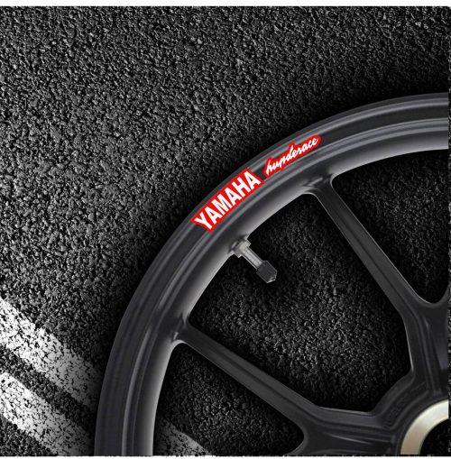 Комплект наклеек на обод колеса мотоцикла YAMAHA THUNDERACE