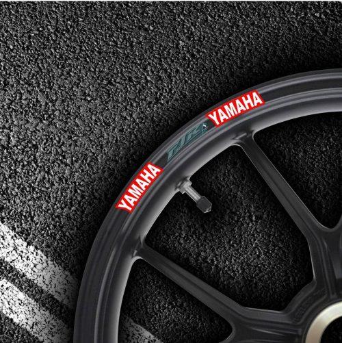 Комплект наклеек на обод колеса мотоцикла YAMAHA FJR