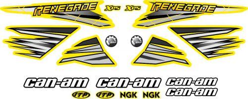 Комплект наклеек на CAN-AM OEM
