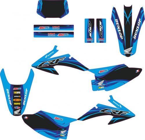 Комплект наклеек на HONDA CRF-150-230 2008-2012 LOCO-9
