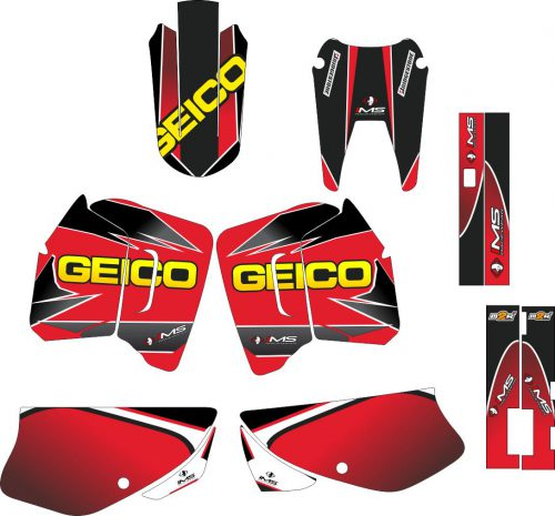 Комплект наклеек на HONDA XR-200 GEICO