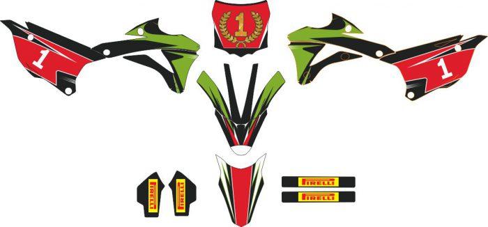 Комплект наклеек на KAWASAKI KX-100 2014.jpg