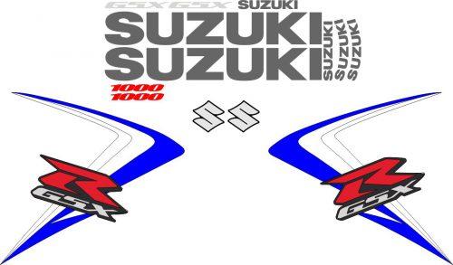 Комплект наклеек на SUZUKI GSX-R-1000