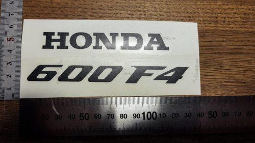 Надпись Honda 600 F4