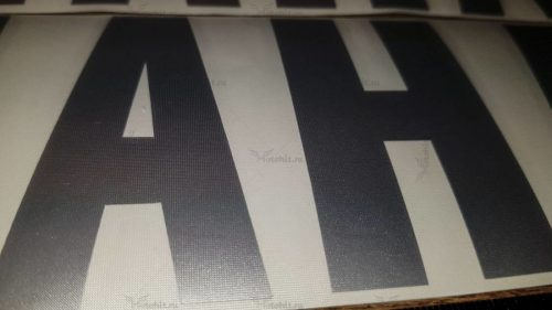 Надпись Yamaha на маятник