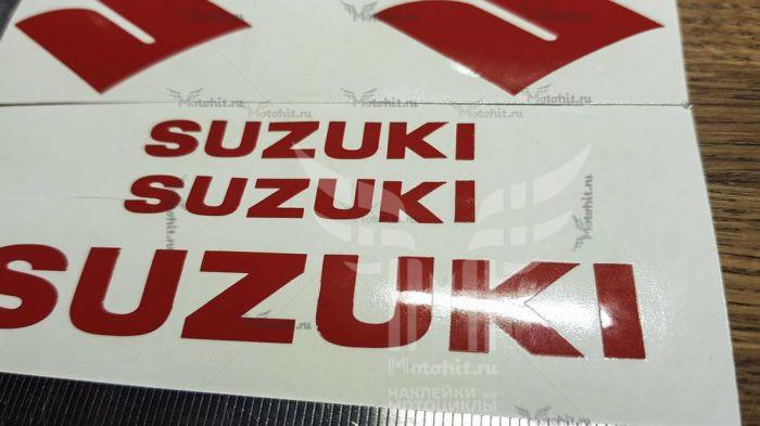 Символы и надписи Suzuki