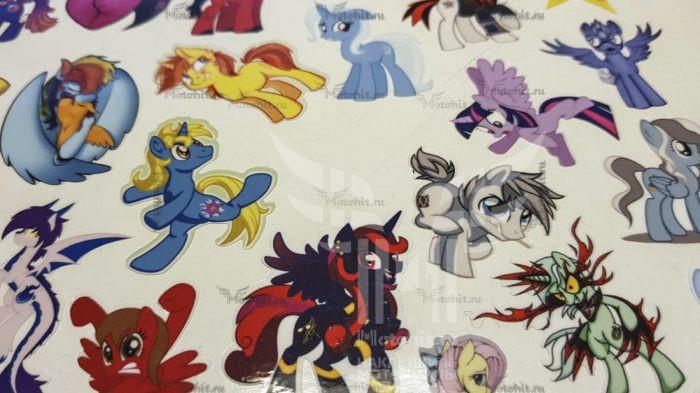 Лист My little Pony на виниле