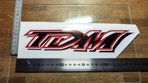 Надпись TDM