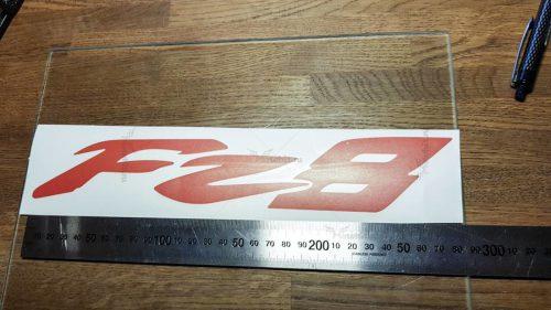 Логотип FZ-8