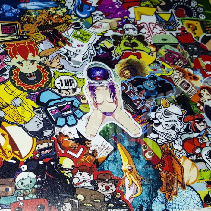 Лист A4 Custom StickerBomb