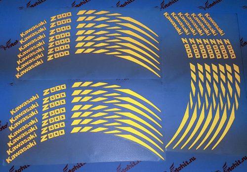 Светоотражающие полосы на колёса Kawasaki Z800
