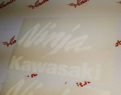Ninja+Kawasaki белые