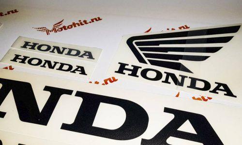 Надписи Honda с крыльями
