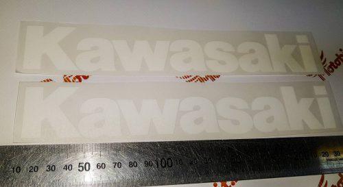 Надпись Kawasaki