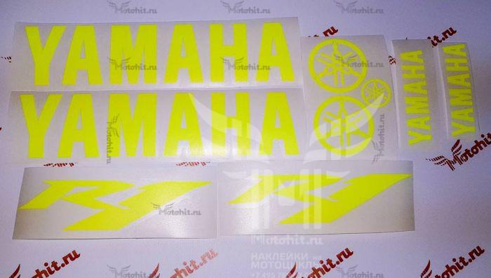 Комплект Yamaha R1 жёлтый неон